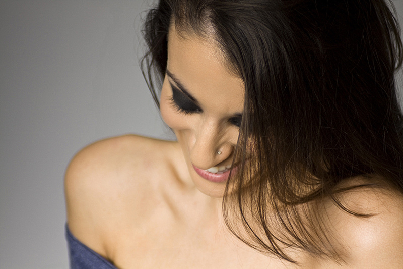 Beauty photo of woman smiling